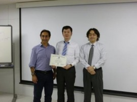 Dr. Gilberto DEBELIAN  Dr. Hiroshi ISHII